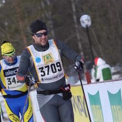 Skiing 90 km - Henrik Wanhatalo (3709)