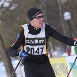 Skiing 90 km - Anders Ingvarson (2047)