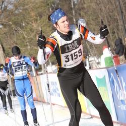Skiing 90 km - Emil Kalered (3159)