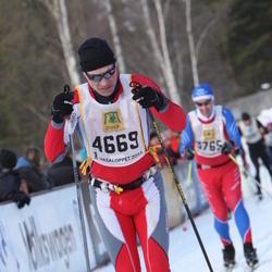 Skiing 90 km - Eivind Carlsen (4669)