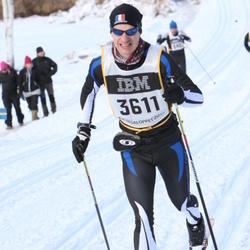 Skiing 90 km - Cédric Burnet (3611)