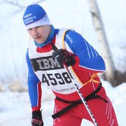 Skiing 90 km - Henrik Hördegård (4598)