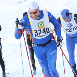 Skiing 90 km - Henrik Seidelin Dam (3740)