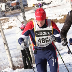 Skiing 90 km - Fredrik Staring (4860)