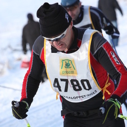 Skiing 90 km - Daniel Galster (4780)