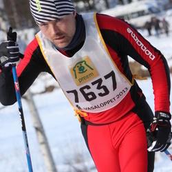 Skiing 90 km - Henrik Gustafsson (7637)