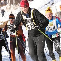 Skiing 90 km - Arto Helenius (6789), Sven-Åke Såja Andersson (14511)