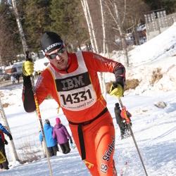 Skiing 90 km - Fredrik Hagström (14331)