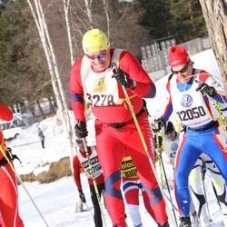 Skiing 90 km - Vladimir Kochetov (3278), Brian Wicklund (12050)