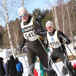 Skiing 90 km - Jimmy Jäderberg (4250), Henrik Nilsson (5413)
