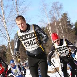 Skiing 90 km - Björn Evers (4902), Christer Erstadius (5476)
