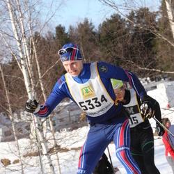 Skiing 90 km - Fredrik Wessberg (5334)