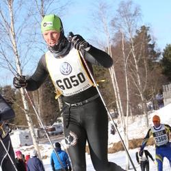 Skiing 90 km - Christian Harding (6050)