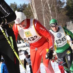 Skiing 90 km - Anders Sahlin (5945), Tarmo Karjalainen (6422)