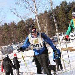 Skiing 90 km - Åke Strömberg (10474)