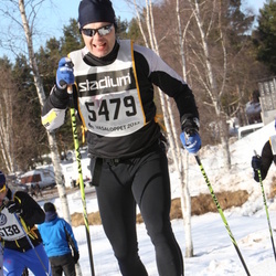 Skiing 90 km - Fredrik Hedqvist (5479)