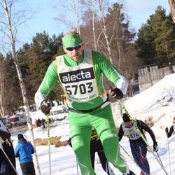 Skiing 90 km - Daniel Samefors (5703)