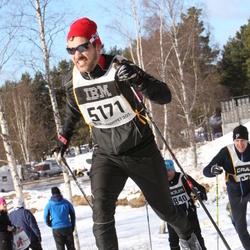 Skiing 90 km - Fredrik Sandesjö (5171)