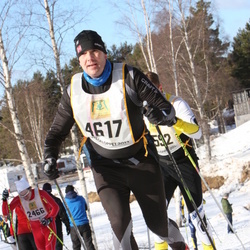 Skiing 90 km - Eigil Timland (4617)