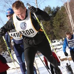 Skiing 90 km - Daniel Westermark (4300)