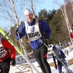 Skiing 90 km - Fredrik Holtenius (16045)