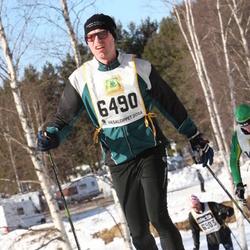 Skiing 90 km - Erik Möller (6490)