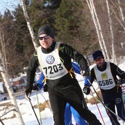 Skiing 90 km - Edvard Gynge (7203)
