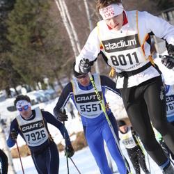 Skiing 90 km - Asbjørn Hilde (5551), Stian Svendal (7926), Oskar Henriksson (8011)