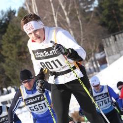 Skiing 90 km - Asbjørn Hilde (5551), Oskar Henriksson (8011)