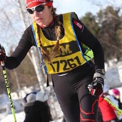 Skiing 90 km - Åsa Bergman (17261)