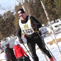 Skiing 90 km - Christian Løkkeberg (5366)