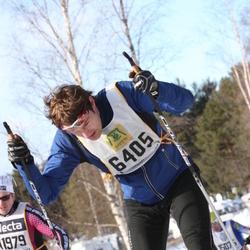 Skiing 90 km - Fredrik Unger (6405)