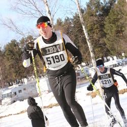 Skiing 90 km - Henrik Widell (5190)