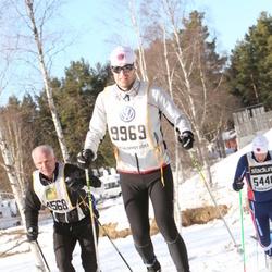 Skiing 90 km - Daniel Gustafsson (9969)