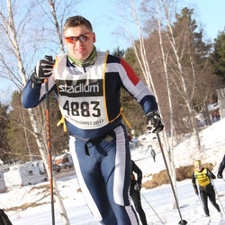 Skiing 90 km - Daniel Eriksson (4883)