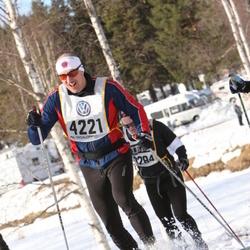 Skiing 90 km - Henrik Sjövall (4221)