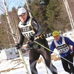 Skiing 90 km - Fredrik Holmer (8748)