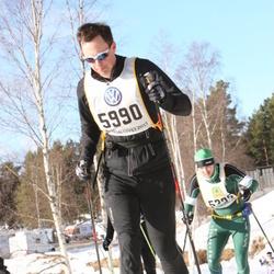 Skiing 90 km - Andreas Glansborg (5990)