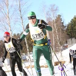 Skiing 90 km - Martin Andersson (5295), Carl-Fredrik Gillberg (6459)