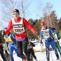 Skiing 90 km - Henrik Guné (10804), Håkan Lundberg (15747)