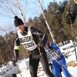 Skiing 90 km - Christian Merup (12365)