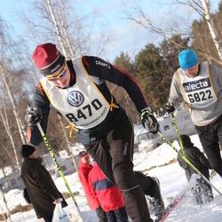 Skiing 90 km - Adam Dahlin (6822), Johan Norrlin (8470)