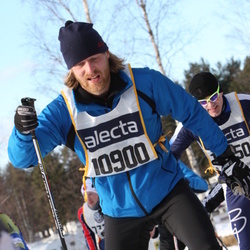 Skiing 90 km - Emil Krøyer (10900)
