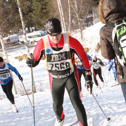 Skiing 90 km - Fredrik Lundberg (7568)