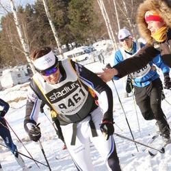 Skiing 90 km - Henrik Nilsson (9461)