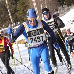 Skiing 90 km - Anders Kihl (7497)