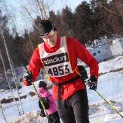 Skiing 90 km - Fredrik Öman (4853)