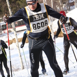 Skiing 90 km - Jan-Peter Magnusson (8608)