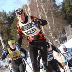 Skiing 90 km - Arne Türkson (13231), Amanda Fjällberg (17153)