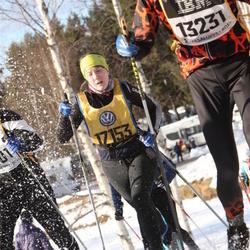 Skiing 90 km - Amanda Fjällberg (17153)